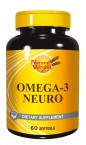 Natural Wealth Omega 3 Neuro, 60 mehkih kapsul
