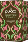 Pukka Peppermint & Licorice, ekološki čaj, 20 vrečk