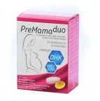 PreMama Duo, 30 tablet in 30 mehkih kapsul