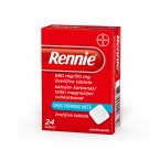 Rennie 680 mg/80 mg, 24 žvečljivih tablet