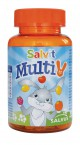 Salvit MultiV, 60 žele bonbonov