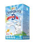 Salvit Omega - Vit D kapljice, 15 ml