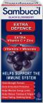 Sambucol Extra Defence, tekoči izvleček črnega bezga, 120 ml
