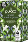 Pukka Serene Jasmine Green, ekološki zeleni čaj, 20 vrečk