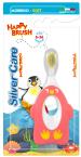 Silver Care Happy Brush, Prva mehka otroška zobna ščetka, 6 - 36 mesecev