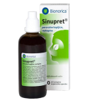 Sinupret, peroralne kapljice, raztopina, 100 ml