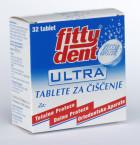 Fittydent, tablete za čiščenje zobnih protez in ortodontskih aparatov, 32 tablet