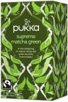 Pukka Supreme Matcha Green, ekološki zeleni čaj, 20 vrečk