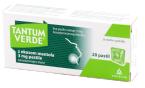 Tantum Verde 3 mg, pastile z okusom mentola, 20 pastil