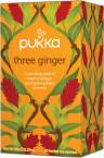 Pukka Three Ginger, ekološki čaj, 20 vrečk