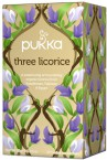 Pukka Three Licorice, ekološki čaj, 20 vrečk