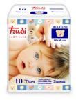 Trudi Baby Care večnamenska vpojna podloga 60 x 60 cm, 10 podlog