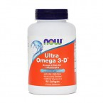 NOW Ultra Omega 3 - D, 90 kapsul