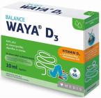 Waya D3 Balance, kapljice za novorojenčke, dojenčke in otroke, 10 ml