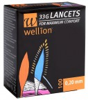 Wellion Lanceta G33, 100 lancet