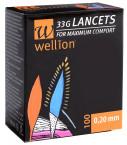 Wellion Lanceta G33, 100 lancet
