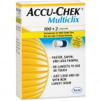 Accu-chek MultiClix, 102 lanceti