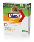 Ataxxa 200 mg/40 mg, kožni nanos - za pse do 4 kg, 1 kapalka