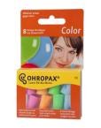 Ohropax Colorplux, barvni ušesni čepki - 4 pari
