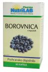 Nutrilab Borovnica, 60 kapsul