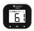 Wellion Calla Light, merilnik glukoze v krvi - bel, 1 merilnik
