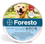 Foresto 4,50 g + 2,03 g ovratnica za pse  nad 8 kg, 1 ovratnica