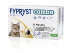Fypryst Combo 50 mg/60 mg, kožni nanos - za mačke in dihurje, 3 pipete