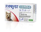 Fypryst Combo 67 mg/60,3 mg, kožni nanos - za majhne pse, 3 pipete