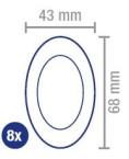 Hansaplast Fast Healing, obliži za hitro celjenje, 8 obližev