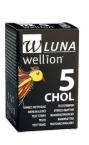 Wellion Luna Duo, 5 merilnih lističev za holesterol