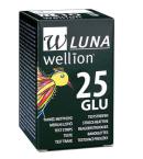 Wellion Luna Duo, 25 merilnih lističev za glukozo