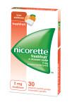 Nicorette Freshfruit 2 mg - z okusom sadja, 30 zdravilnih žvečilnih gumijev