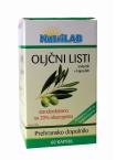 Nutrilab Oljčni listi, 60 kapsul