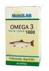 Nutrilab Omega 3 1000 mg, 60 kapsul
