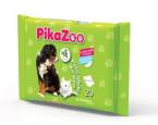 PikaZoo, vlažni robčki jojoba, 20 x 20 cm, 20 kosov