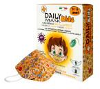 Daily Mask Kids, 3-6 let, bombažna otroška maska s 3 filtri - rumena