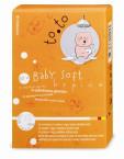 To.to Baby Soft krpice za umivanje, 50 kosov