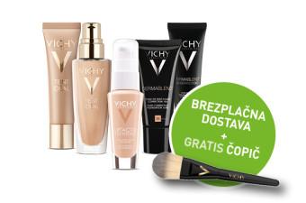 Brezplačna dostava ob nakupu Vichy pudra + darilo