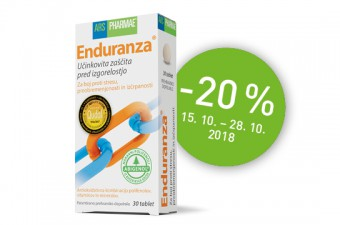 20 % popusta na prehransko dopolnilo Enduranza