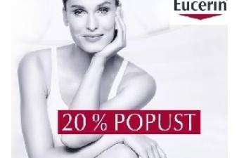 Izbrani izdelki Eucerin 20 % ugodneje