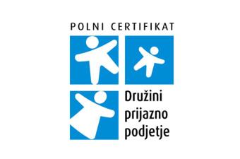Lekarna Ljubljana prejela polni certifikat Družini prijazno podjetje