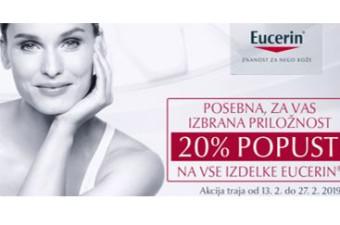 Akcijska ponudba izdelkov Eucerin