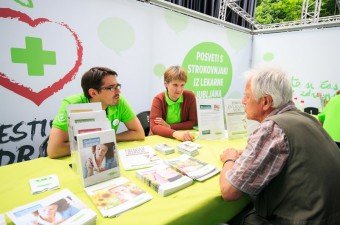 Festival zdravja s svojo ponudbo in programom navdušil številne obiskovalce