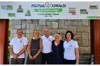 Novinarska konferenca za Festival zdravja