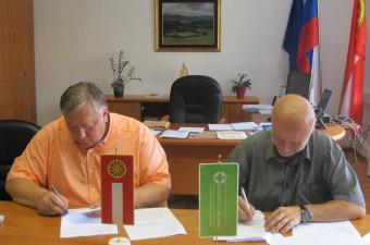 Podpis pogodbe o opravljanju lekarniške dejavnosti v občini Logatec