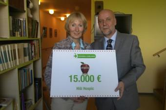 Lekarna Ljubljana hiši hospica predala donacijo v višini 15.000 evrov