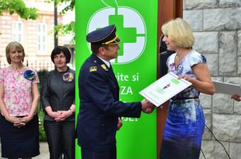 Lekarna Ljubljana donirala 3.500 € za gasilce