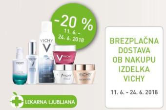 Akcijska ponudba izdelkov Vichy
