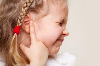 Vnetje ušes pri otrocih