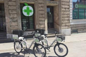 Električno kolo Lekarne Ljubljana
